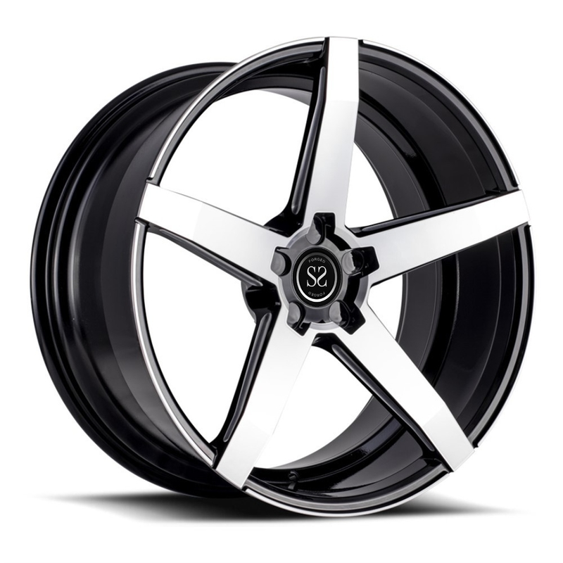 luxury car rim 18 inch 19 inch 20 inch forged concave staggered wheels