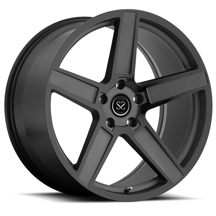 customize alloy wheel 5x112 5x120  5x127 with T6061 aluminum  forged rim china manufacture